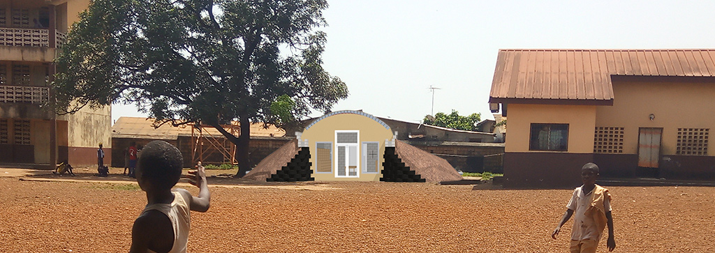 guinea library school yard